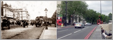 London,Hyde Park,Piccadily 1900s Same Small